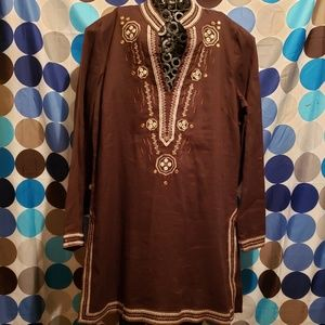 Indian Tunic knee Length Blouse